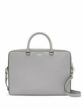 Burberry grainy leather briefcase - Grey