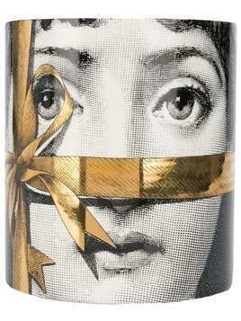 Fornasetti Profumi Regalo Gold candle - White