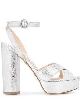 P.A.R.O.S.H. Cathy platform sandals - SILVER