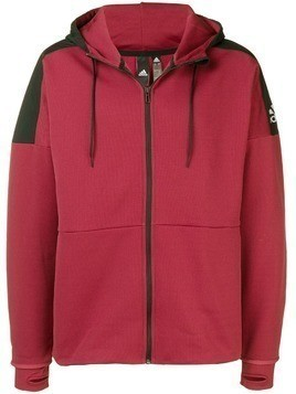 Adidas Climaheat Stadium ID hooded jacket - Red