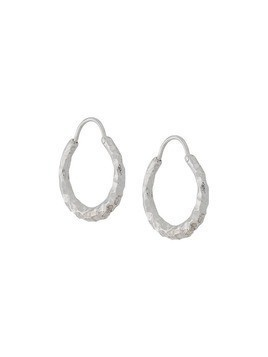 All Blues Ellipse small earrings - Silver
