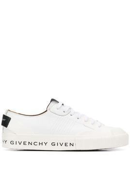 Givenchy patch logo sneakers - White