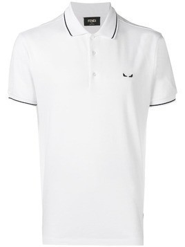 Fendi short-sleeve polo shirt - White