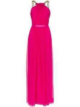 Haney Emeline chain strap maxi dress - Pink