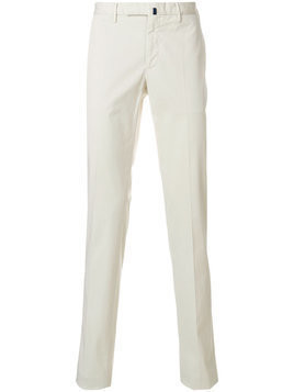 Incotex - chino slim fit trousers - Herren - Cotton/Spandex/Elastane - 58 - Nude & Neutrals