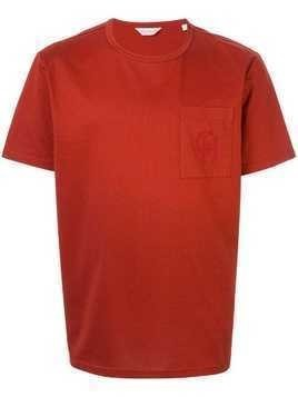 Gieves & Hawkes chest pocket T-shirt - Red