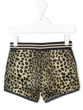 Little Marc Jacobs reversible animal print shorts - Blue