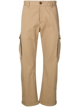 Fortela cargo-pocket chinos - Brown