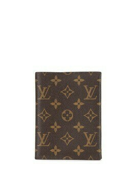 Louis Vuitton 2014 pre-owned monogrammed notebook cover - Brown