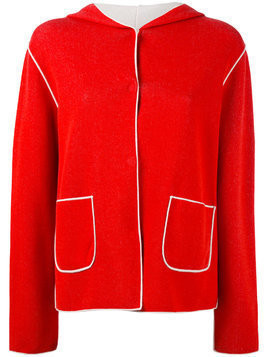 Le Tricot Perugia fitted jacket - Red