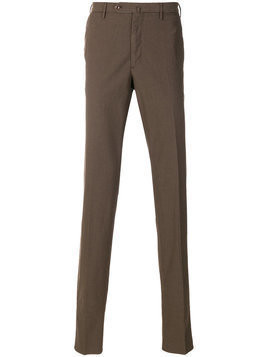 Incotex - classic chinos - Herren - Cotton - 48 - Brown