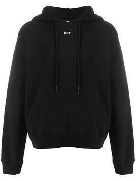 Off-White Stencil Arrows hoodie - Black