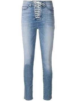 Hudson lace-up jeans - Blue