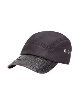 Fendi logo embossed baseball cap - Black