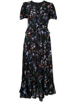 Markus Lupfer floral print dress - Black