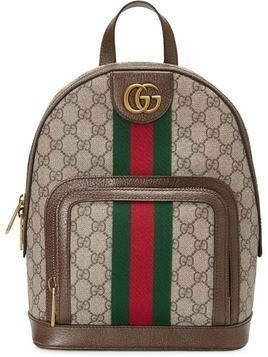 61f469d84a017 Gucci Ophidia GG small backpack - Brown