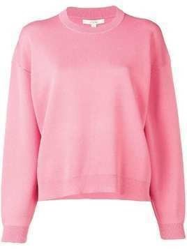 Dagmar long-sleeve fitted sweater - Pink