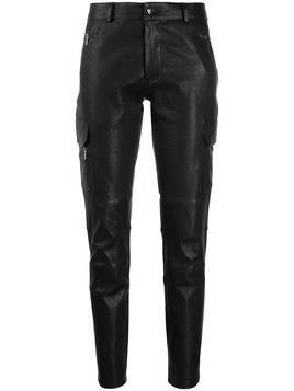Arma slim-fit trousers - Black