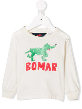 The Animals Observatory printed sweatshirt - White