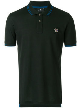 Ps By Paul Smith - embroidered logo polo shirt - Herren - Cotton - M - Green