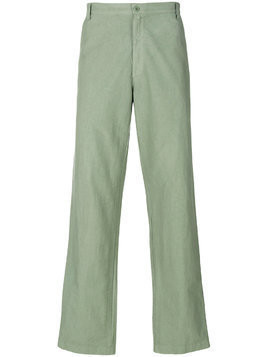 Labo Art straight-leg chinos - Green