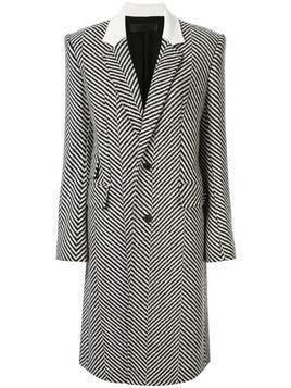 Haider Ackermann button down herringbone coat - Grey