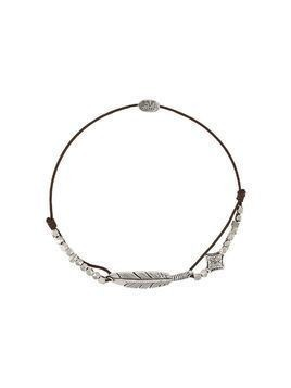 Gas Bijoux Penna feather bracelet - SILVER