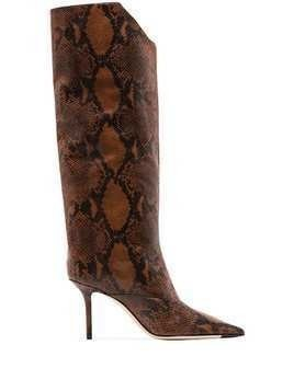 Jimmy Choo Brelan 85mm boots - Brown
