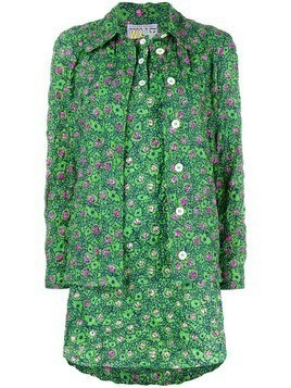 Walter Van Beirendonck Pre-Owned ladybug-print two-piece set - Green