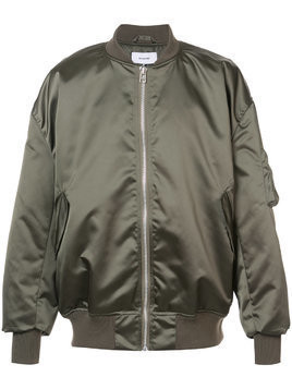 Hed Mayner classic bomber jacket - Green