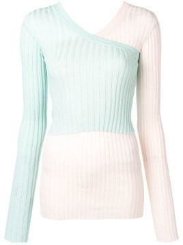 Circus Hotel one-shoulder jumper - Pink