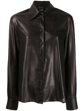 Pinko shiny effect shirt - Black