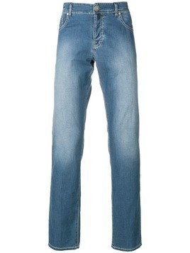 Borrelli slim faded jeans - Blue