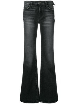 Current/Elliott low rise flared jeans - Black