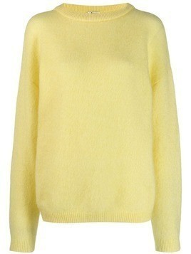 Acne Studios fluffy sweater - Yellow