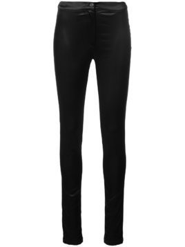 Ann Demeulemeester skinny fit trousers - Black