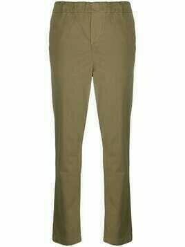 7 For All Mankind elasticated slim-fit trousers - Green