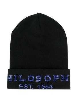 Philosophy Di Lorenzo Serafini Kids studded logo hat - Black