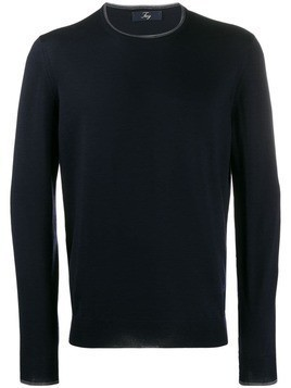 Fay knitted jumper - Blue