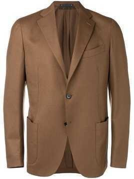 Bagnoli Sartoria Napoli single breasted blazer - Brown