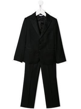 Dolce & Gabbana Kids single-breasted two piece suit - Black