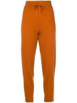 Cashmere In Love regular fit track trousers - Yellow & Orange
