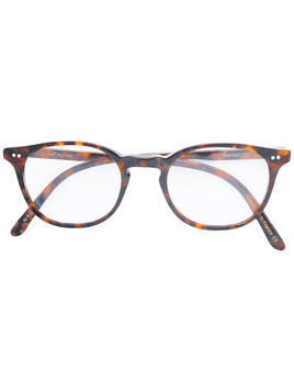 Josef Miller round-frame glasses - Brown