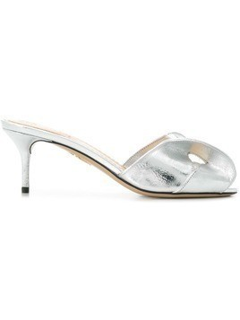 Charlotte Olympia Drew sandals - Silver
