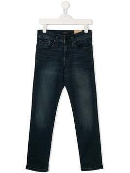 Ralph Lauren Kids straight leg denim jeans - Blue