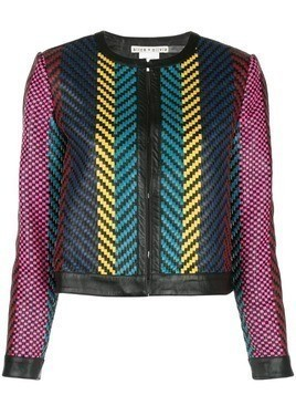 Alice+Olivia Kidman weaved jacket - Multicolour