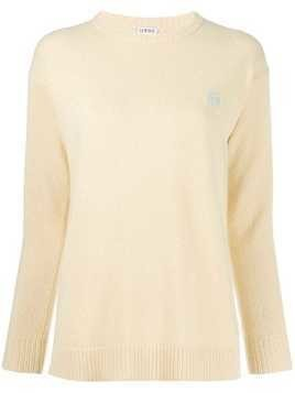 Loewe long sleeved knit top - Yellow