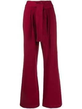 Levi's: Made & Crafted wide leg trousers - Red