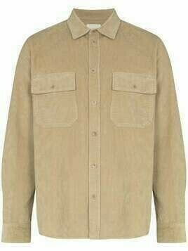 Wood Wood corduroy buttoned shirt - Neutrals