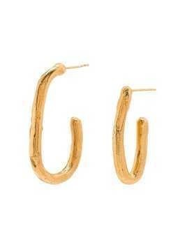 Alighieri open hoop earrings - GOLD